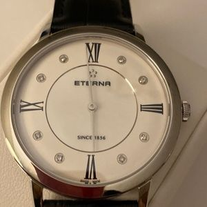 ETERNA 8 Diamond Quartz, Swiss Made - Brand New.